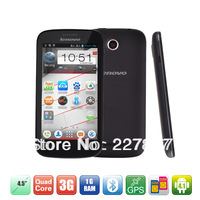 Lenovo A760 MSM8225Q Quad Core 3G mobile Cell Phone 4.5'' IPS Dual Camera Dual SIM Android 4.1 Bluetooth GPS FM 1GB/4GB