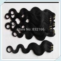 Muse Hair: Cheap Brazilian Hair Extension Body Wave Human Hair Weft Beauty Women Hair Products 5pcs Free Shipping 8''-28'' #1b