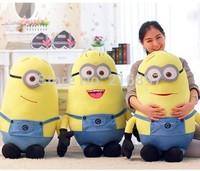 Big Size 85CM 3D Despicable ME 2 Minions Brinquedos Toys & Hobbies  Children Birthday Christmas Gift Toys & Hobbies Plush