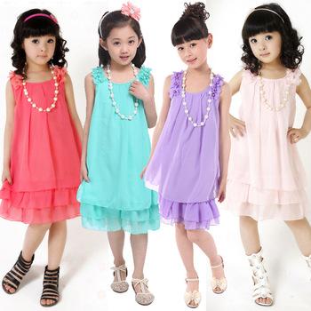 Summer Autumn 2013 new dress/ lace dress /children dress/children's clothing,Baby Girls Sleeve Cake Dress Bow Dots Cotton