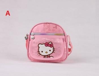 Hot !!!2013 New Arrival Girls Bag Lovely Bag Kitty Bag School Bags Mini Oxford Canvas Backpack Gift For Children Kids BAG-271