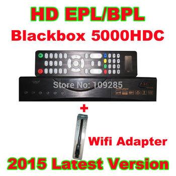 5pcs/Lot Singapore StarHub cable TV box Blackbox 5K box + wifi adapter ,For HD, EPL/BPL, Qbox 5000,Upgrade Blackbox 4000HDC C808