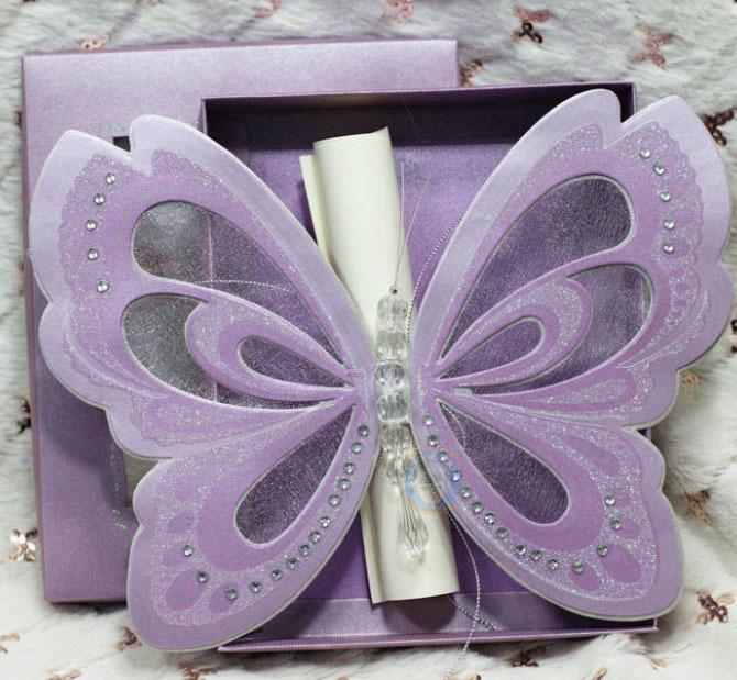 Invitaciónes en forma de mariposa para imprimir - Imagui