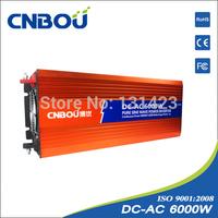"""Free shipping "" 6kw dc 110v ac solar off-grid system pure sine wave solar inverter"