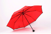Free Shipping Sun Rain Umbrella Women Candy Color Rain Gear On Factory Price