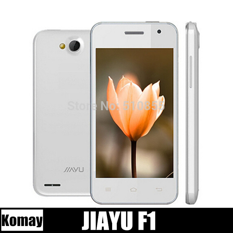 JIAYU F1 MTK6572 Dual Core 512MB RAM 3G WCDMA 4G ROM 2.0+5.0MP Camera 2400Mah JIAYU Smart Mobile phone Russian Spanish Polish(China (Mainland))