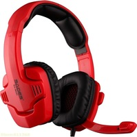Good  Hifi Sades SA-901C Game headphone Sades Stereo 7.1 Surround Pro Gaming Headset Stereo On Ear Headphone with Mic