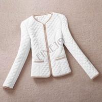 2014 new winter high collar from shoulder short paragraph Slim flu Down cotton padded jacket,Coat women B11 SV006195