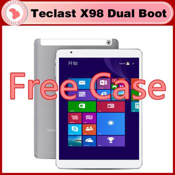 """Бесплатная чехол 9.7 """" Teclast X98 воздуха 3 г двойной загрузки грин бэй Trail-T четырехъядерный планшет экран сетчатки шт 2 ГБ 32 ГБ / 64 ГБ Bluetooth клавиатура чехол"""