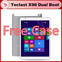 "FREE CASE 9.7"" Teclast X98 Air 3G Dual Boot Bay Trail-T Quad Core Tablet PC Retina Screen 2GB 32GB/64GB Bluetooth keyboard case"