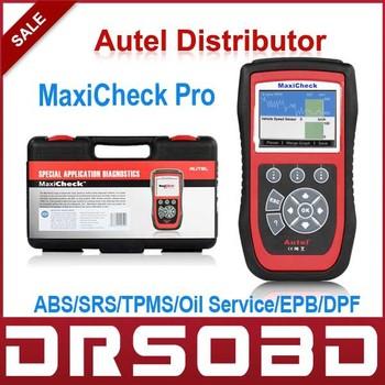 100% Original Specialized Systems Diagnostic Scan tool AUTEL MaxiCheck Pro ABS/SRS/TPMS/Oil Service/EPB/DPF/SAS sensors reset