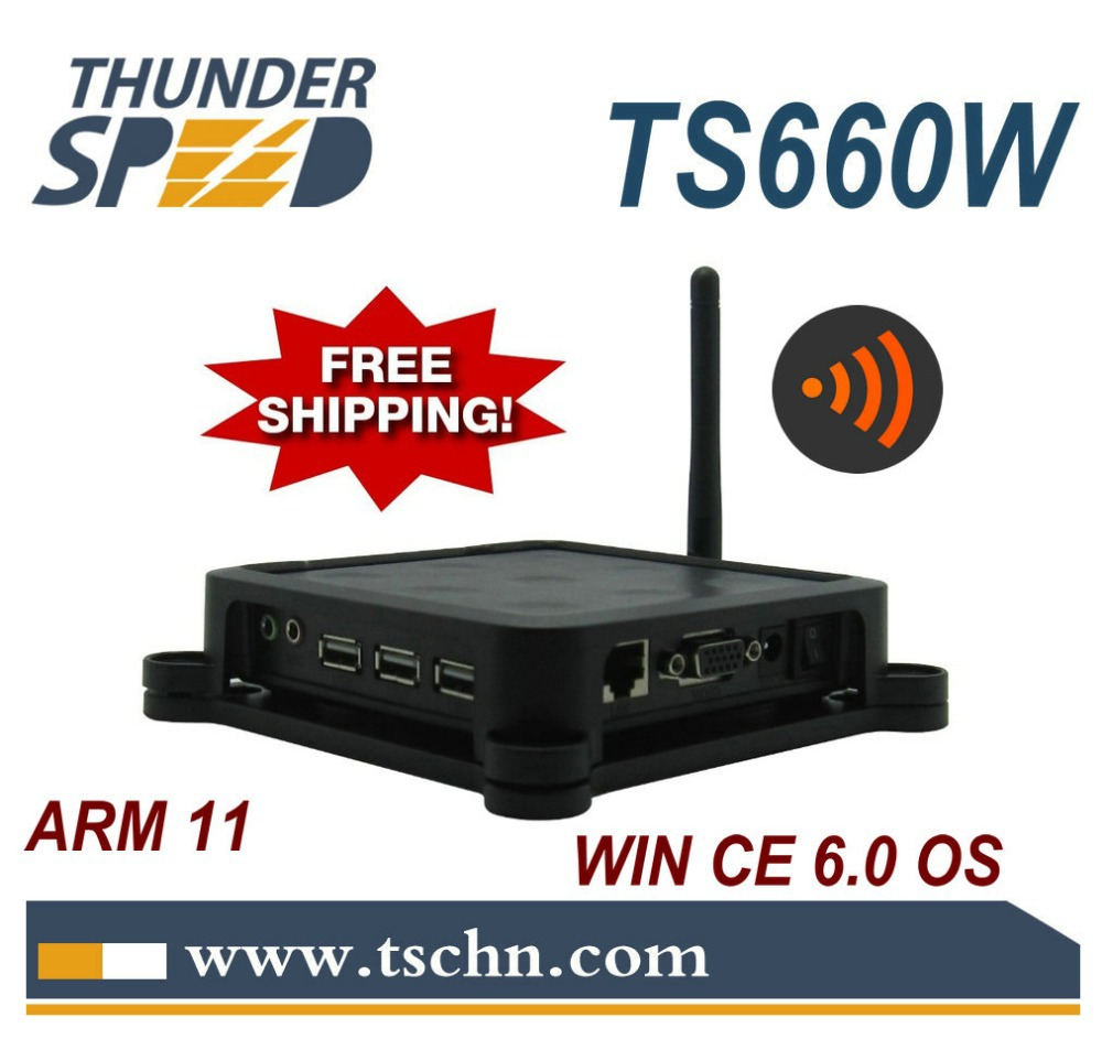 2013 Lastest TS660W Wireless Win CE 6.0 OS Network Terminal Thin Client Net Computer Computer Sharing(China (Mainland))