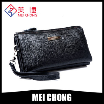 8.19 huge promotion!2014 top selling New Style Genuine Leather Men Hand Bag Wallet Purse Handbags(ZPS5188-2)