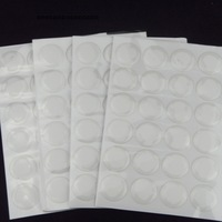 """1000pcs 1"""" clear epoxy adhesive circle stickers bubble dots 3D effect Epoxy Domes Resin Stickers Dome Label For DIY Jewelry"""