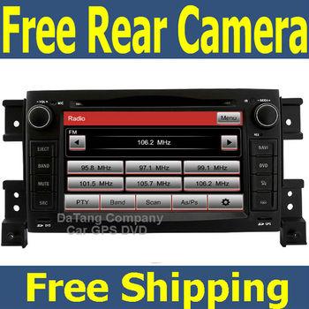 Car GPS DVD Player Head Unit for Suzuki Grand Vitara 2005 - 2014 with Radio Tape Recorder Russian menu