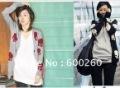Free shipping New Women Long sleeve V-Neck Skull Trendy Knit Sweater Cardigan 2 Colors