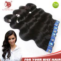 "4pcs/lot brazilian virgin hair body wave high quality grade 6A virgin human hair extensions 8""-36"" mix length DHL free shipping"
