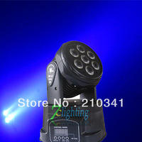 4Piece Free Shipping, 7x10W Mini LED Wash Moving Head,7pcs 10W RGBW 4in1 LEDs Moving Head Wash Stage Light