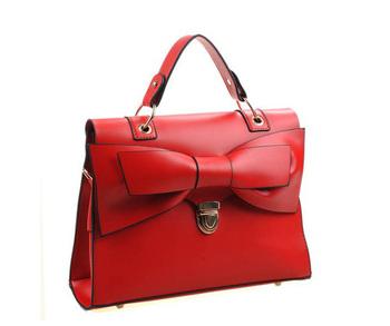 ladies' PU bag + shoulder bag+ hotsale fashion handbag