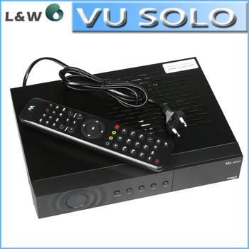 Free Shipping the Vu Solo  Newest Version VU+Solo PVR Linux Smart Single Tuner Digital DVB-S2 HD Digital satellite Receiver