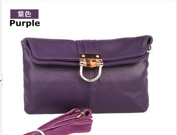Free Shipping(1pcs)+multifunction women's GENUINE  LEATHERl handbag shoulder messenger bag/F005
