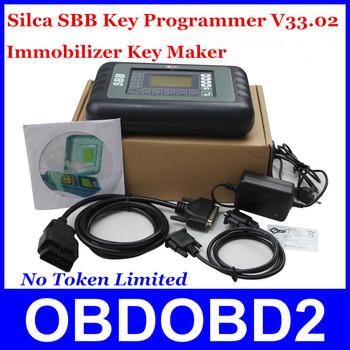 2014 DHL Free Shipping Silca Immbolizer SBB V33 Universal Key Maker 9 Languages For Multi-Brands Car Auto Key Programmer V33.02