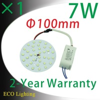7W Smd5050 led Ceiling Panel Light Board /Led Circular Ceiling Disc Lighting 85-265V
