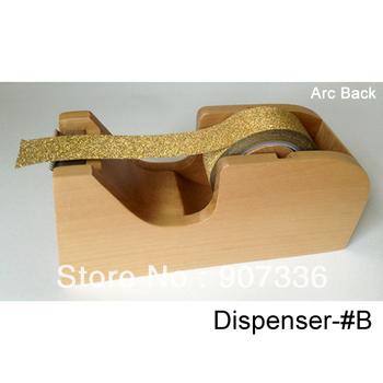 Shipping free-Wood washi Tape dispenser -Washi Tape Dispenser-25 mm Wide  Dispenser for washi Tapes- Wood washi Tape Dispenser
