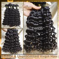 Lavera brazilian curly virgin hair extension products,brazillian deep curly  human hair weave 2 3 4pcs lot