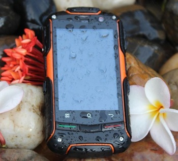 Original AGM ROCK V5 Smart Phone Waterproof Dustproof Shockproof Android 3G Mobile Phone GPS WIFI Compass 4GB TF Card