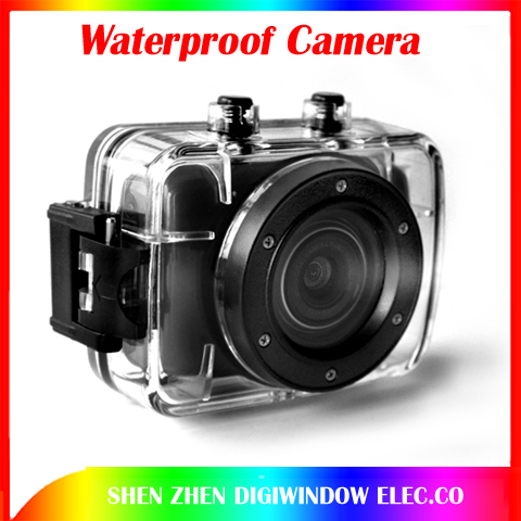 Sports DVR Helmet Waterproof HD Action Camera Sport Outdoor Camcorder DV hot digital video camera free shipping(China (Mainland))