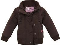 O freeshipping autumn winter brown children child baby boys girls cute warm jacket coat outwear sweater parkas top WM34595