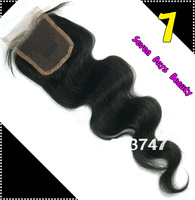 "Hair Brazilian Virgin Hair Lace Top Closure Body Wave 3.5""*4""  Can Be Dyedn Virgin Brazilian Virgin Hair Body Wave Closure"