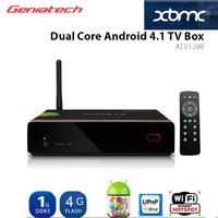 {DHL Shipping} Geniatech Mygica ATV1200 Enjoy TV Android 4.1 Amlogic 8726 MX Dual Core Cortex A9  google TV Box XBMC