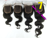 "Hair Brazilian Virgin Hair Lace Top Closure Body Wave 3.5""*4"" Hair Lace Front Closure Virgini Virgin Hair Brazilian"