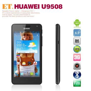 Huawei U9508 4.5inch IPS Retina Screen Hisilicon Hi3620 Quad Core wcdma 3g Smart Phone 2G RAM 8GB ROM Camera