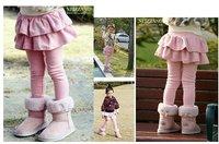 Quality No. 1 baby girls Leggings pants Korean culottes kids pants for 3-8 y Autumn girls pant children skirt pant free shipping