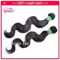 """Queen 5a virgin brazilian hair weave 2pcs lot free shipping, 10""""-28"""" natural color body wave,100% human remy hair extensions"""