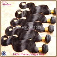 "brazilian virgin hair body wave 8""-30"" 5A cheap brazilian hair 6 pcs lot free shipping human hair extension rosa hair products"