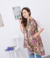 2014 New Retro Style Women Totem Style Korea Version Warm Scarf.180 Long Fashion Voile Scarf/Shawl/Wraps.Free Shipping. WJ834