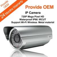 720P Megapixel HD 1280*720 Outdoor Waterproof Wireless Wifi Ip Camera With 30 Meters Night Vision KaiCong Sip1128