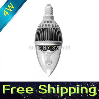 9pcs/lot led candle light 4w e14 e27 lamp tubes Warm White Cool White e26 mr16 gu10 gu5 3 led 110v 220v 240v free shipping G43