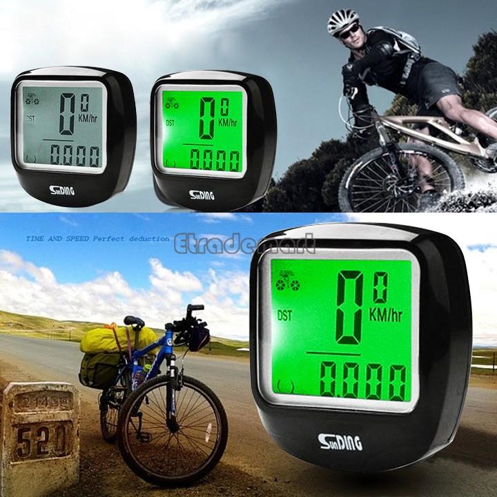 Good Product New Bike Bicycle Cycle Cycling Waterproof Digital Computer Speedometer Odometer Freeshipping B16 SV005109(China (Mainland))