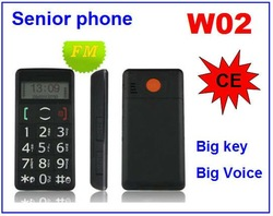 Senior mobile phone W02(China (Mainland))