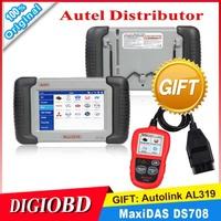 2014 Original Autel MaxiDAS DS708 Universal Auto Scanner Multi-Language  Car Scan tool support  over 40 car brands