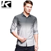 color changing shirt, man's fashion shirt, long sleeve cotton shirt, good quality shirt low price, free shipping