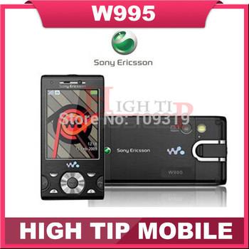 HOT SELL!Unlocked original Sony Ericsson mobile phones 3G GPS 8.1MP W995 W995i 1 Year Warranty refurbished free shipping