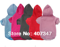 Free Shipping! MOQ 12pcs, Dog Hoodies 5 Color Mixed