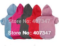 wholesale MOQ 12pcs Dog Hoodies 5 Color Mixed Free Shipping