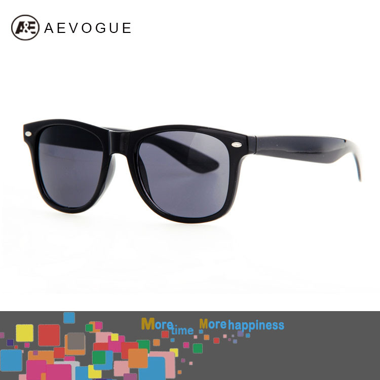 Retail AEVOGUE Women 80s Retro Designer wayfarer sunglasses men High Quality With Colorful Styles Unisex glasses DT0017(China (Mainland))